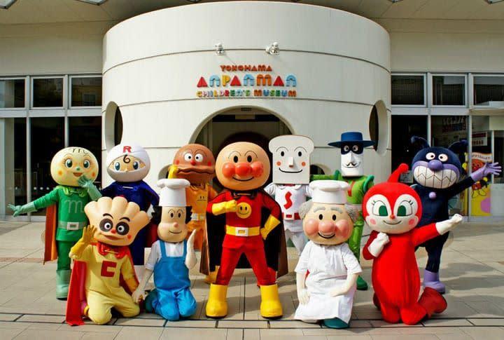 橫濱麵包超人博物館