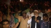 Tumultuous protests aim to oust Sharif in Pakistan