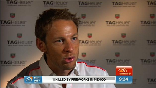 One on one with Jenson Button