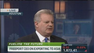 Freeport LNG CEO: U.S. gas exports to displace Russian?