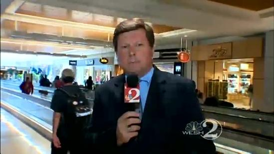 Sandy snarls travel at Orlando airport, elsewhere