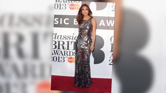 Myleene Klass Sizzles in Silver at the Classic BRIT Awards