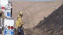 Eight grass fires break out in Kern County