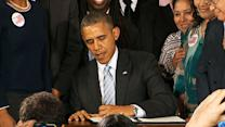 Obama Raises Minimum Wage for Contract Workers
