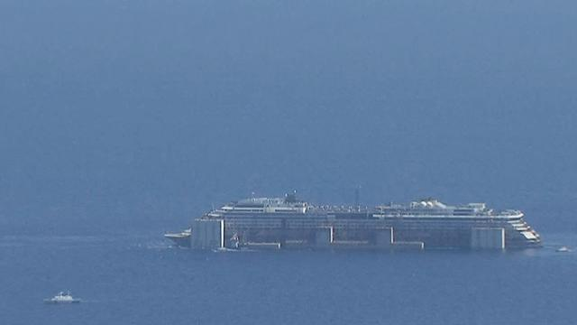 Costa Concordia: Largest maritime salvage operation complete