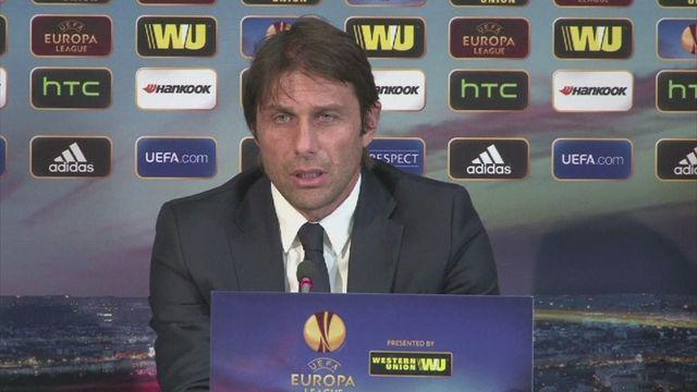 Conte talks up Pogba and Tevez ahead of Lyon clash