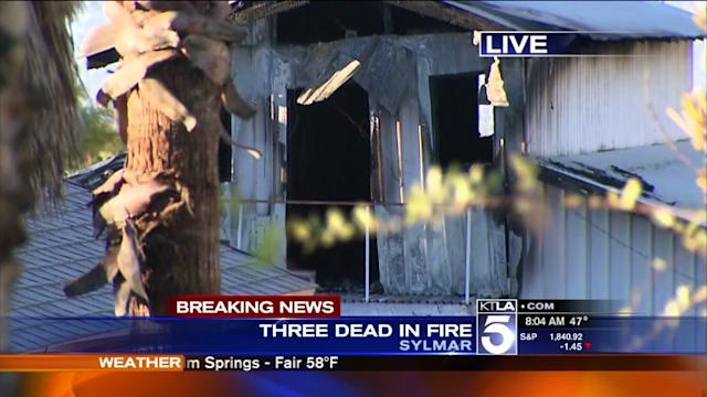 Father and 2 Children Dead After Sylmar Fire, Family Member Says