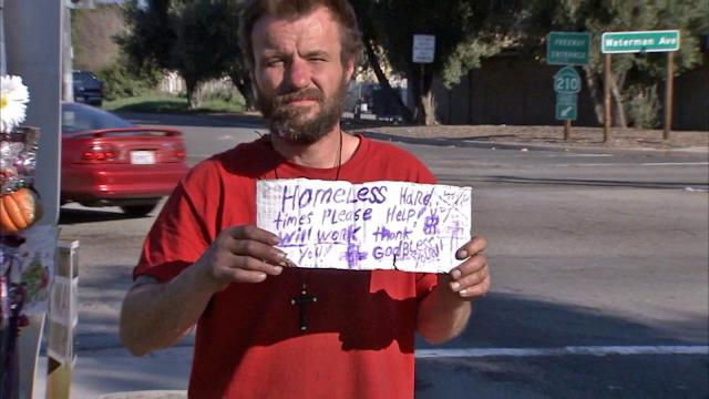 San Bernardino looking for solution to panhandling problem