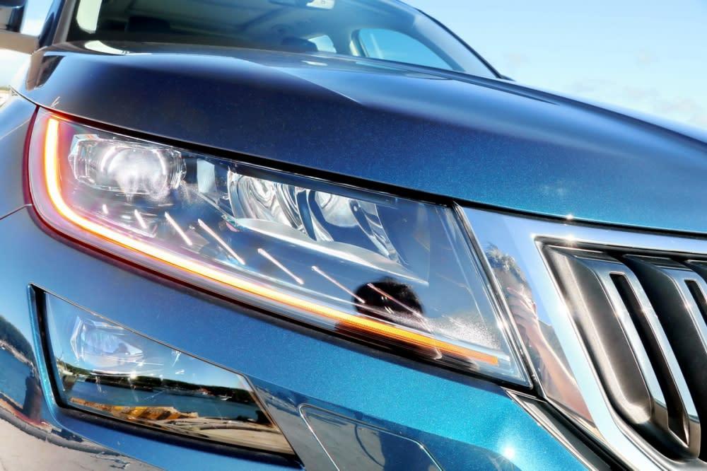 Kodiaq燈組全數採LED配置,包括遠近燈、霧燈、方向燈等皆使用辨識度更高且節能的LED模組
