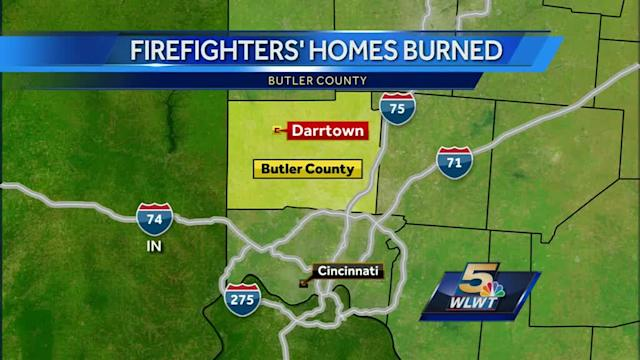 Firefighter's home destroyed by fire in Butler Co.
