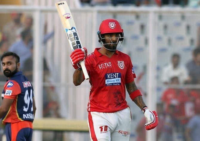 Rahul smashed his half-century in just 14 balls