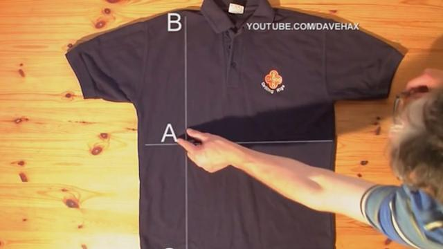 Video Shows You 'How to Fold a Shirt in 2 Seconds'
