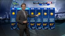 Kyle`s Thursday Weather Report