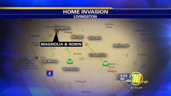 Suspect disguised as CHP officer in Merced Co home invasion