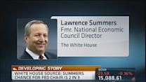 Summers has 2 in 3 chance for Fed Chair: Source