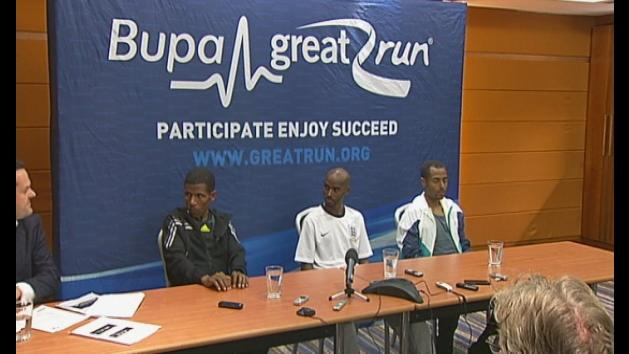 Mo Farah is out to win in his first ever Great North Run