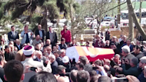 Funeral for Slain Prosecutor Draws Large Crowd in Istanbul