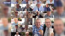 Grandparents text photo of every In-N-Out Burger visit