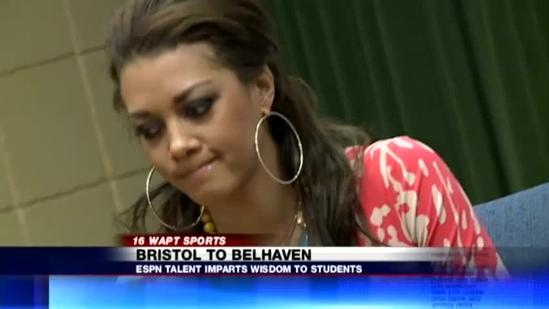ESPN anchor visits Jackson