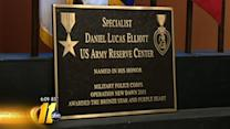 Army Reserve Center dedicated to fallen soldier