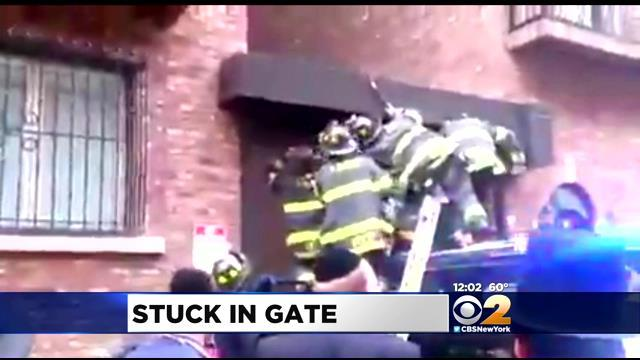 Boy Injured After Getting Caught In Roll-Up Gate In Brooklyn