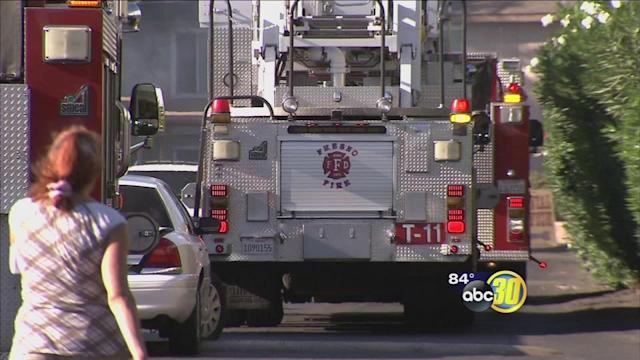 Fresno boy playing with a lighter starts an apartment fire