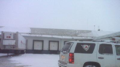 Roof Collapse Damages Business