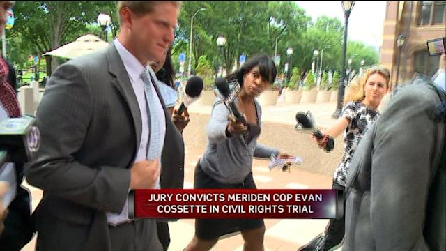 Police Chief`s Son Found Guilty of Police Brutality