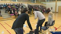 Olympic heroes visit northern Saskatchewan