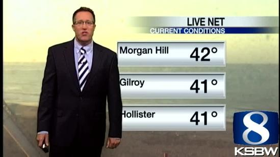 Get Your Friday KSBW Weather Forecast 5.24.13