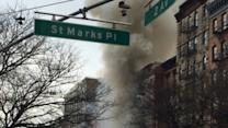 Building Explodes, Collapses in New York City's East Village