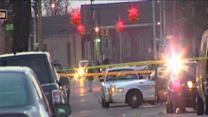 Two Detroit officers shot in shoot-out