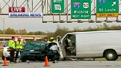 1 Dies When Van, Car Collide On U.S. 50 Hwy.