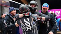 Holcomb, Langton lead USA to bobsled podium
