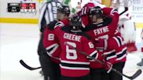 Stephen Gionta deflects in the late winner