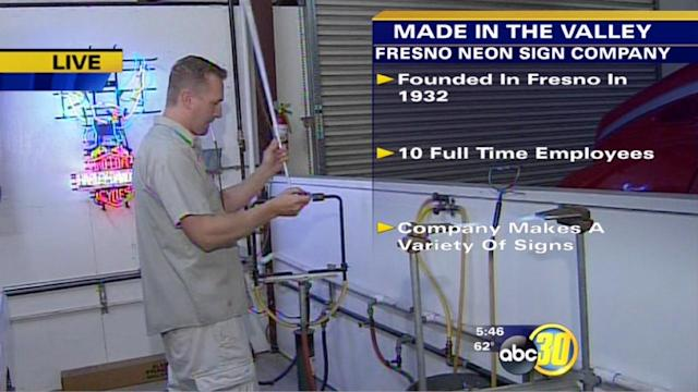 Made in the Valley: Fresno Neon Sign Company | 1 of 2