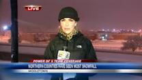 Northern counties see more snow