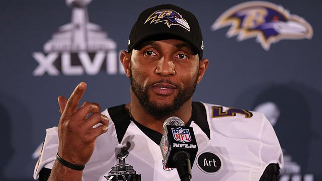 Ray Lewis addresses PED questions