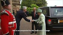 British Queen visits Northern Ireland