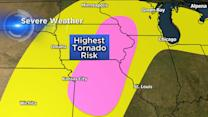 Millions could see damaging winds, possible hail