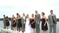 Wedding Party Falls in Lake During Photo Op