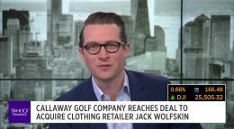 cała kolekcja za pół różne wzornictwo Callaway Golf Company reaches deal to acquire clothing retailer Jack  Wolfskin