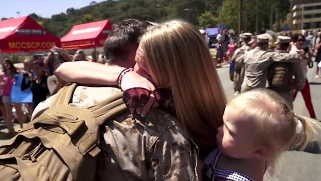 Soldier Homecoming: Inside a Military Reunion