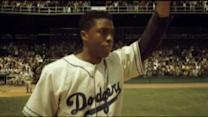 "Sandy Kenyon reviews film about Jackie Robinson, ""42"""