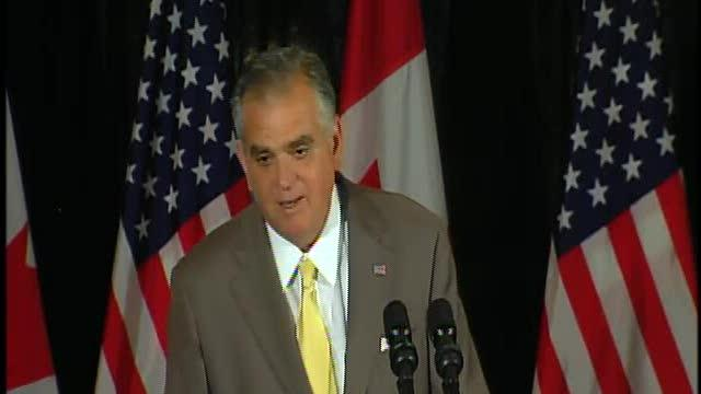Ray LaHood on new Detroit/Canada bridge plan