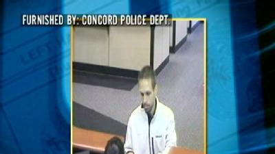 Concord Police Search For Bank Robber
