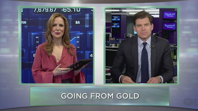 Hot Stock Minute: Dent In Gold