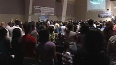 Congregation Gathers To Remember Slain Pastor