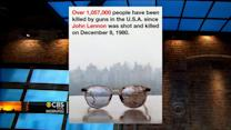 Yoko Ono tweets picture of John Lennon's bloody glasses