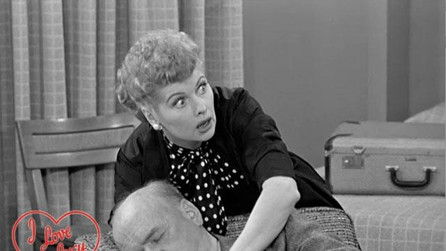 I Love Lucy - Switching Tickets